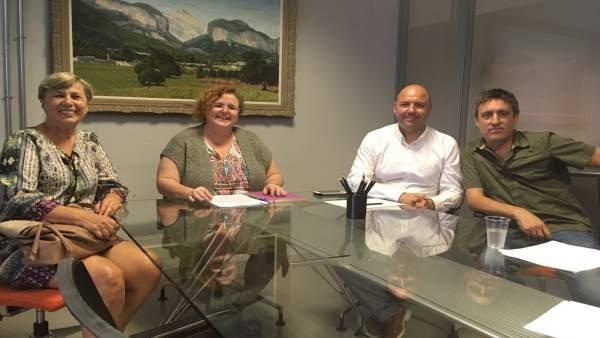 Reunión entre Govern y Memoria de Mallorca