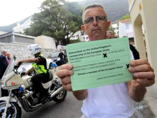 Referéndum sobre el 'brexit' en Gibraltar