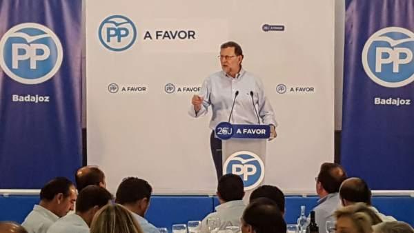 Rajoy en Zafra