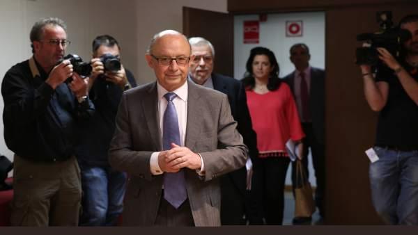 Cristóbal Montoro informa sobre el Fondo de Liquidez Autonómica