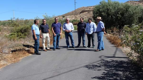 Las obras en Huércal-Overa han mejorado varios caminos rurales.