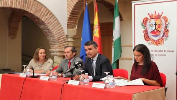 Jornadas de Derecho Penal Internacional celebradas en Marbella (Málaga)