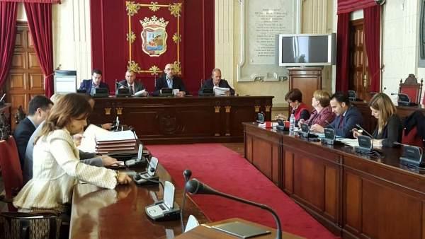 Constitución de la comisión de investigación Art Natura, presidida por Zorrilla