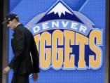 Juan Hernangomez, tras ser seleccionado por Nuggets de Denver