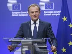 Tusk dice que el 'brexit' será irreversible si esa es la voluntad de Londres