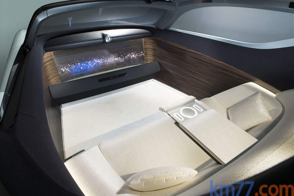 Interior del Rolls Royce Vision Next 100