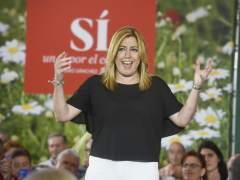 """Susana Díaz: """"La mera hipótesis de un pacto con Podemos nos ha restado credibilidad"""""""