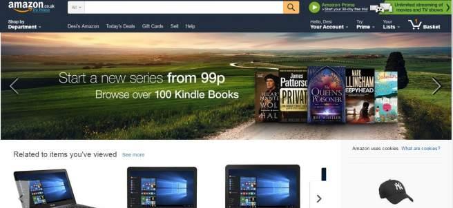 Amazon UK, ¿más barato tras el 'brexit'?