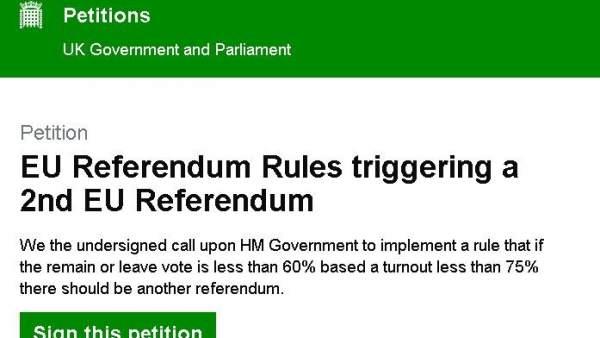 Petición al Parlamento