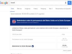 El miedo a la realidad del 'Brexit' acapara las búsquedas en Google