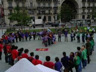 Cierre de campaña de Unidos Podemos