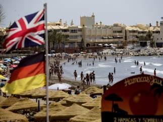 Británicos en España