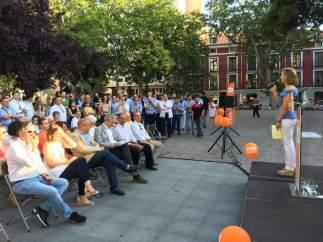 Imagen de archivo de una campaña de Ciudadanos.