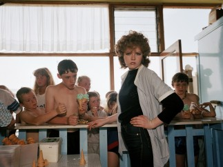 Martin Parr - New Brighton. From  'The Last Resort', 1983-85