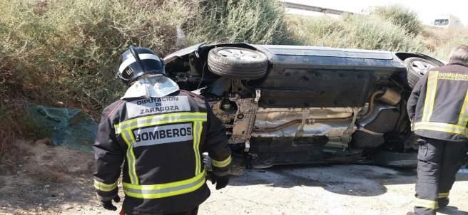 Accidente este sábado en Cadrete con una persona fallecida.