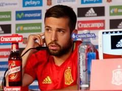 """Jordi Alba: """"El mal rollo lo genera la prensa"""""""