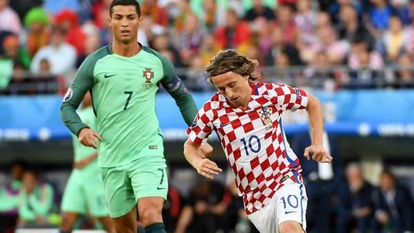 Cristiano y Modric
