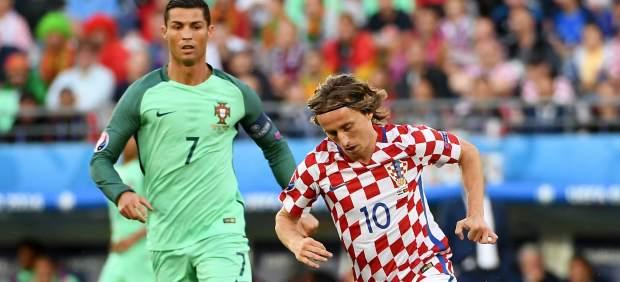 La batalla final entre Cristiano y Modric se libra en los 'The Best'