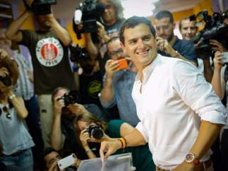Vota Albert Rivera