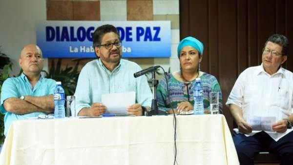 El jefe negociador de las FARC, 'Iván Márquez'