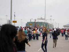 Un buque chino inaugura la ampliación del Canal de Panamá