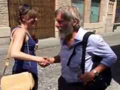 Harrison Ford, un turista más por las calles de Toledo