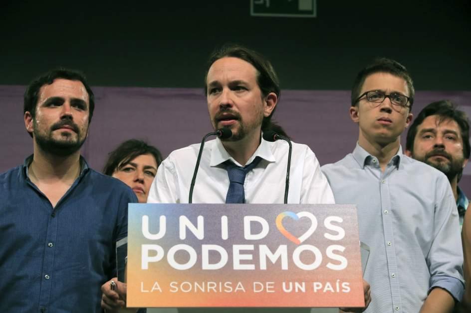 Pablo Iglesias. Pablo Iglesias analiza los resultados electorales, que consolidan al PSOE en segunda posición y a Unidos Podemos en tercer lugar.