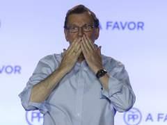 """Rajoy: """"Ofrezco mi mano a los partidos moderados"""""""