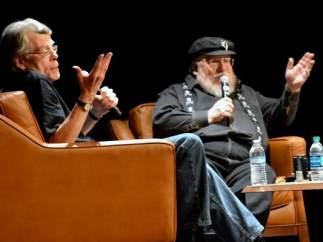 Stephen King y George R.R. Martin