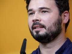 <span style=&quot;text-decoration: underline;&quot;>Gabriel Rufián, cabeza de lista de ERC al Congreso de los Diputados en las elecciones generales del 26-J. </span>