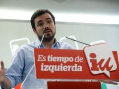 """Alberto Garzón y Julio Anguita insisten en que la confluencia es """"el camino correcto"""""""