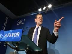 """Rajoy: """"A partir del jueves empezaré a hablar con las distintas fuerzas políticas"""""""