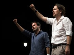 Izquierda Unida pasa de 5 a 8 diputados tras su pacto de coalición con Podemos
