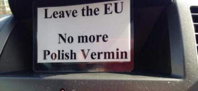 Repunte de xenofobia tras el Brexit