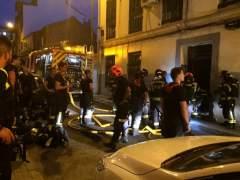 Un incendio en Vallecas deja 23 afectados por inhalación de humo
