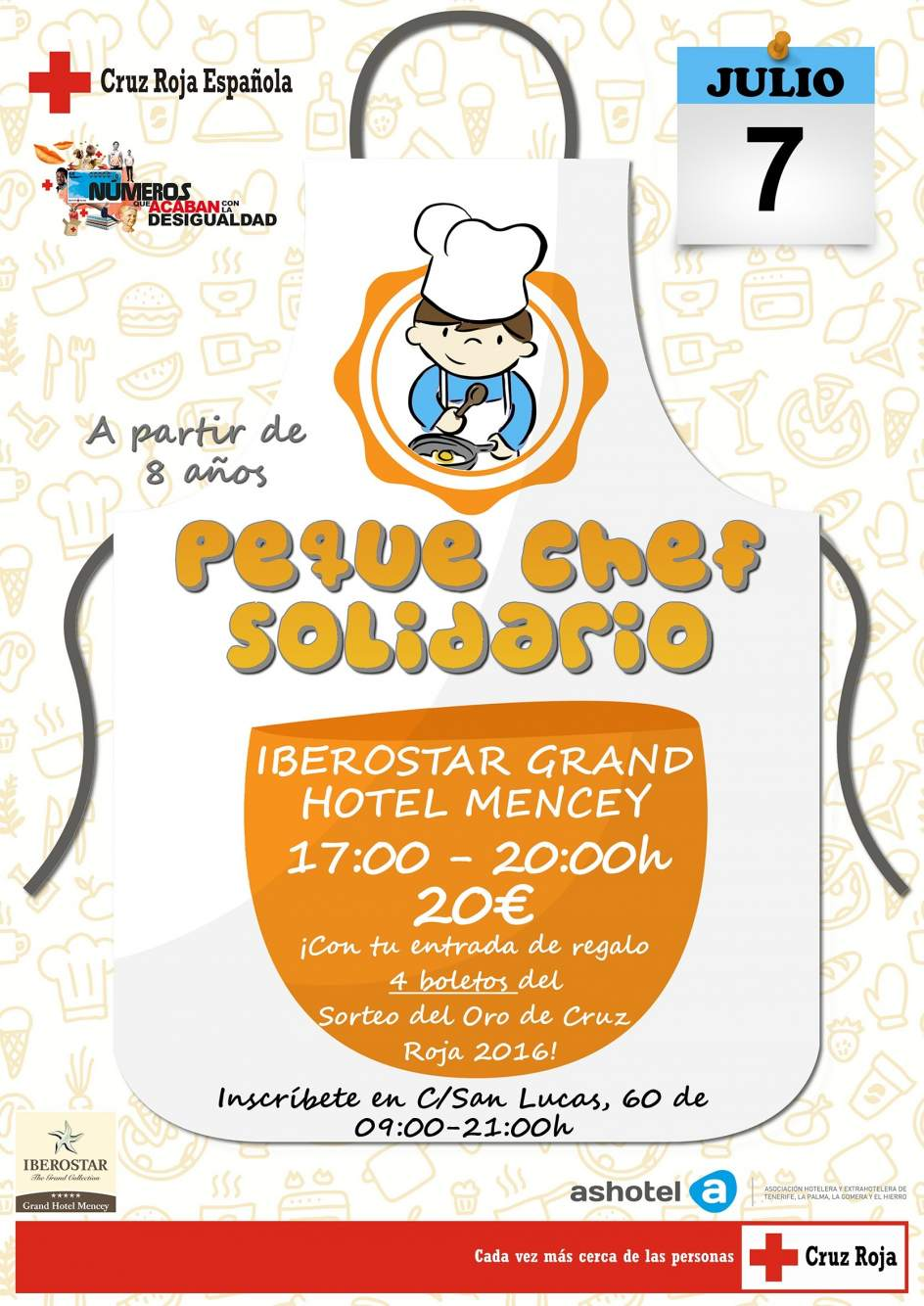 Cruz roja organiza un taller solidario de cocina para - Carteles de cocina ...