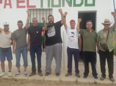 Reocupación de la finca Somonte en Palma del Río (Córdoba)