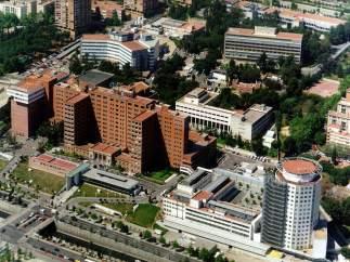 El Hospital Vall d'Hebron de Barcelona.