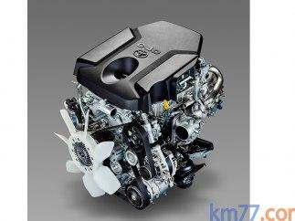 Motor del Toyota Hilux