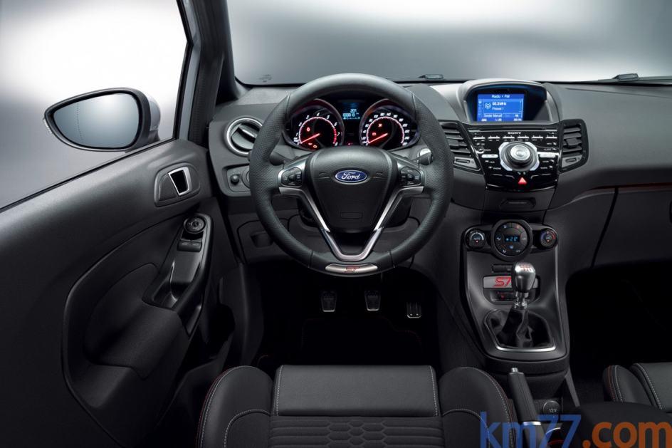 Navegador del Ford Fiesta ST200 2016