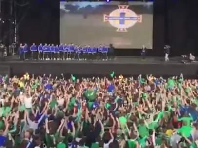 Afición de Irlanda del Norte