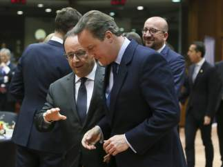 Cameron y Hollande