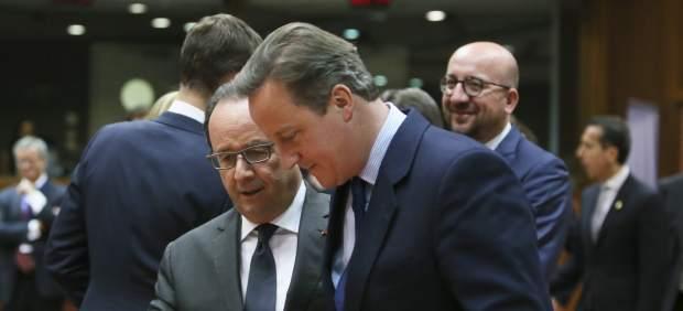 Cameron y Hollande