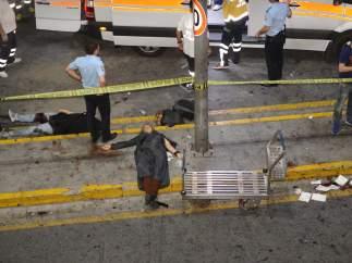 Víctimas del atentado