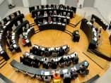 Pleno de Madrid en el Palacio de Cibeles