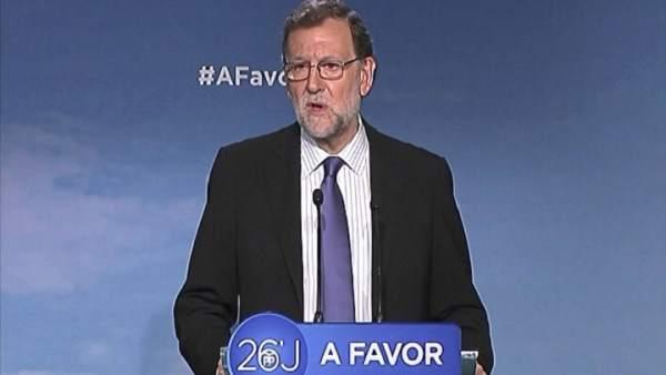 """Rajoy: """"A partir del jueves empezaremos a hablar"""""""