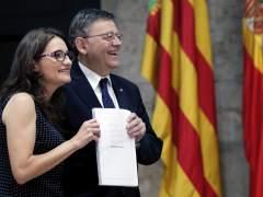 Puig y Oltra hacen balance del primer año del Consell