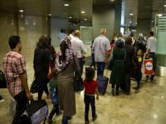 Llegan a España 28 refugiados sirios procedentes de Líbano