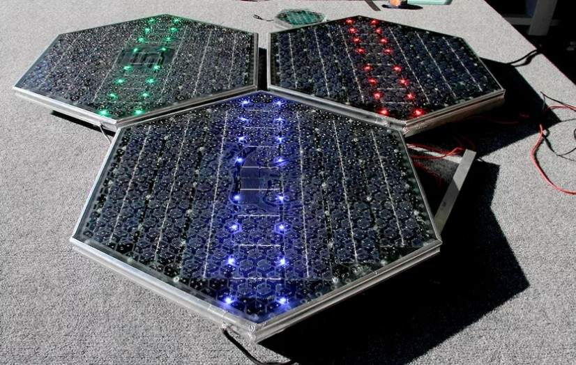 Paneles Led Solar Roadways