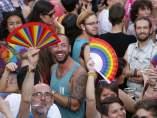 Abanicos arco iris